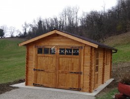 Garage in legno 4x6 (44 mm)