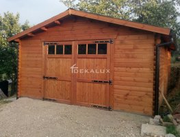 Garage in legno 5x5(44 mm)