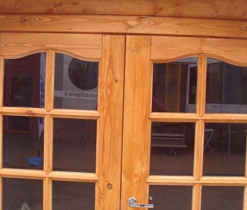 Bungalow in legno 4x5 (44mm)