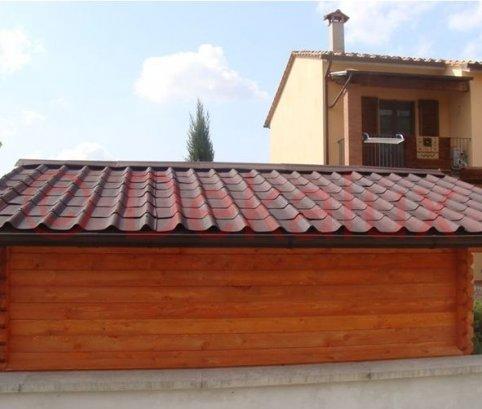 tetto del bungalow