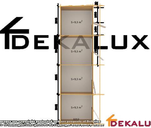 Box quadruplo grande per cavalli 12x3,5 (44mm)