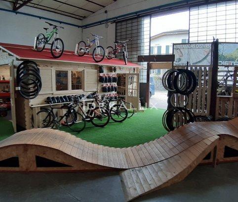 Garage in legno 5x6 (44mm)