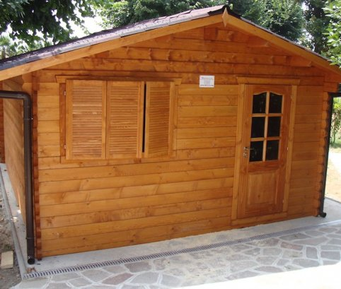 Bungalow in legno 5x5 (44mm)