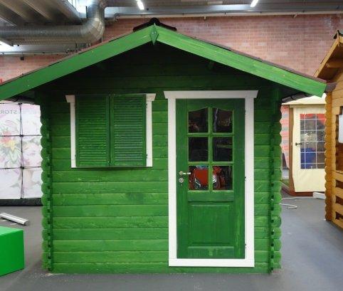 Casetta in legno 2,5x2,5 (28mm) porta singola.