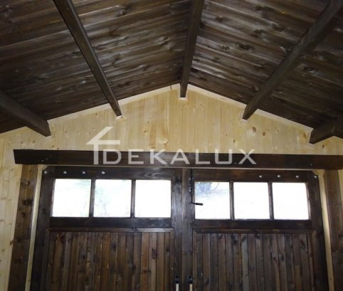 Garage in legno 4x6 (44 mm)
