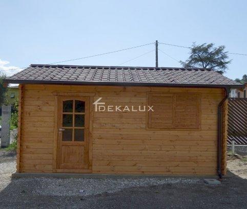 Garage in legno 3,5x5 (44 mm)