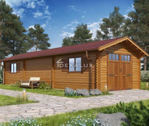 Garage in legno 4x12(44 mm)