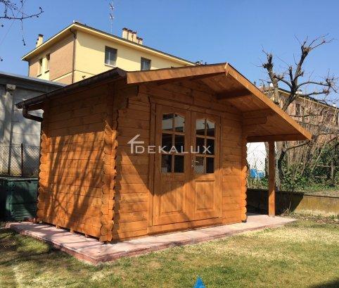 Casetta in legno da giardino 3x2 44mm_porta doppia