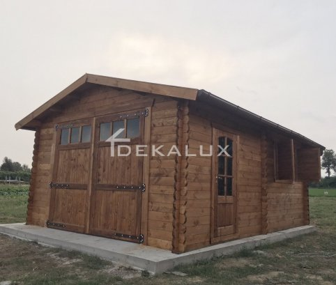Garage in legno 4x5 (44mm)