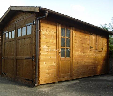 Garage in legno 3,5x6