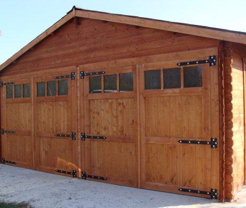 garage 6x6 in legno