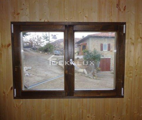 Bungalow in legno 5,8x5,8 (44mm)_con pareti divisorie